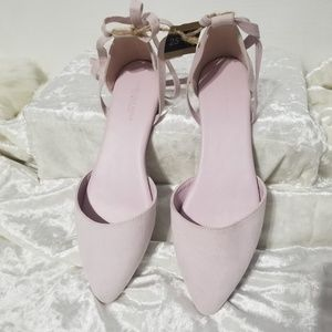 American Eagle Outfitters Dusty Pink Flats B8